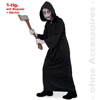 Grim reaper traje crianças horror Halloween padrinho morte carrasco criança costume