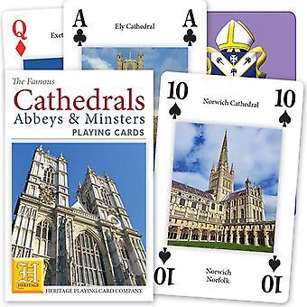 Katedraaleja Englanti & Wales joukko 52 kortin pakalla (+ Jokerit)