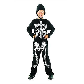 Bnov skelett kostym