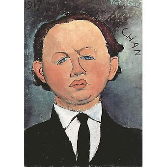 Oscar Miestchaninoff,Amedeo Modigliani,46.2x33cm