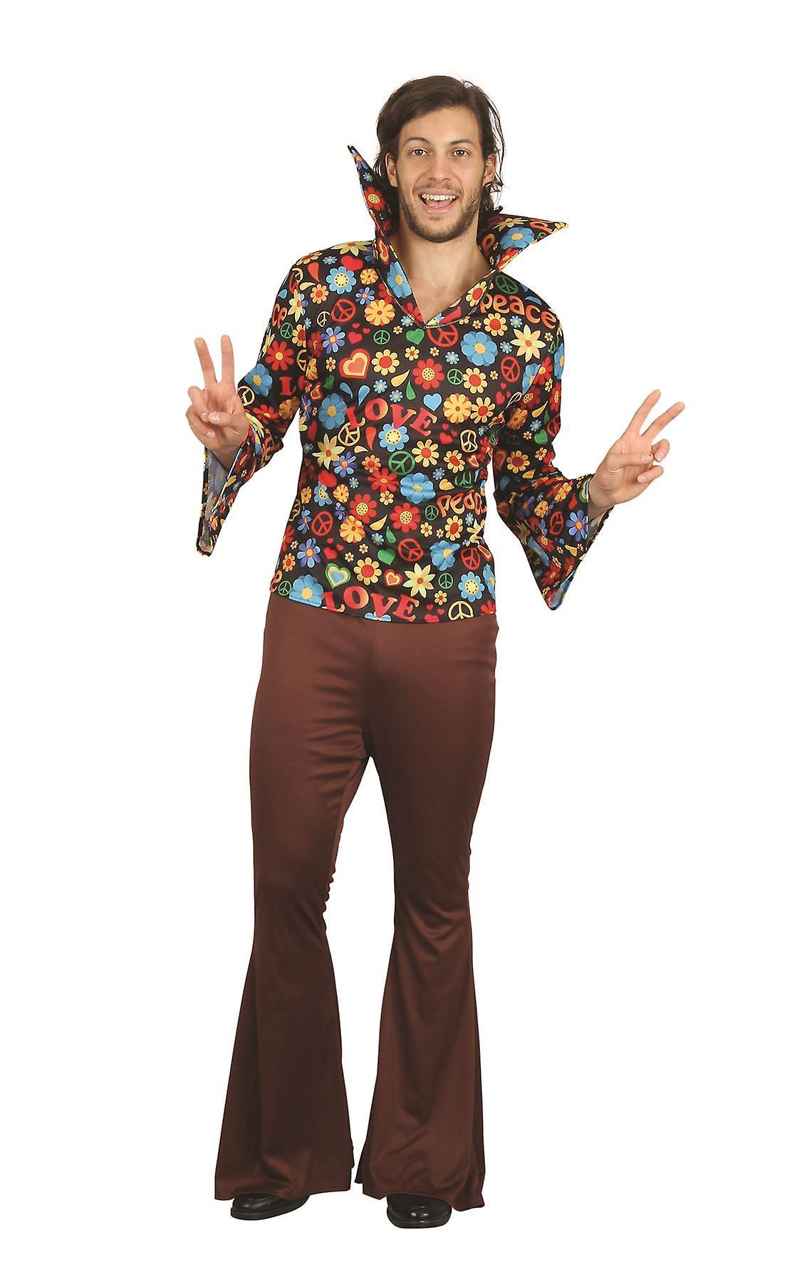 Hippie mann (skjorte + bukser) | Fruugo NO