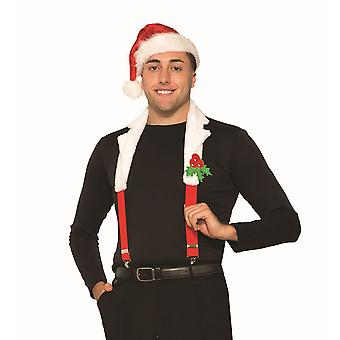 Santa Collar + Braces Set