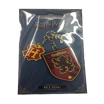 Harry Potter kulcstartó Gryffindor Roxfort logo új hivatalos gumi