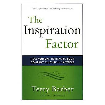 Inspiration Factor - How You Can Revitalize Your Company Culture in 12
