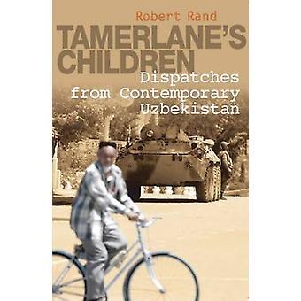 Niños de Tamerlán - despachos de Uzbekistán contemporánea de bata