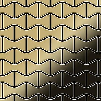 Metal mosaik Titanium ALLOY Kismet-Ti-GM