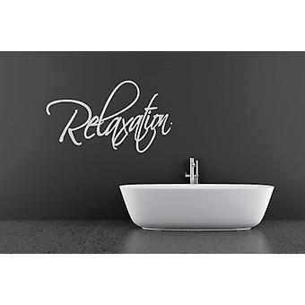 ملصق حائط حمام الاسترخاء