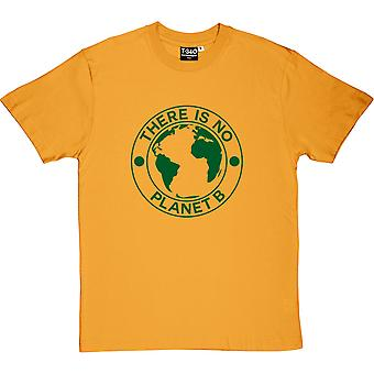 There Is No Planet B Yellow Men's T-Shirt
