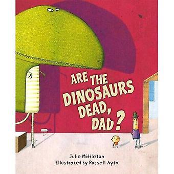 Sont les morts de dinosaures, papa?