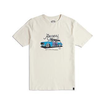 Animal Trip kort ermet T-skjorte i vintage Cream