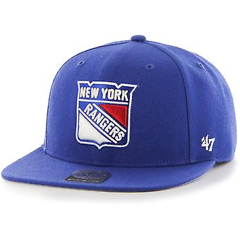 47 brand Snapback Cap - zeker SHOT New York Rangers royal