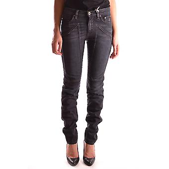 Jeckerson Ezbc069001 Women's Black Cotton Jeans