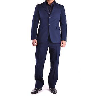 Puku National Ezbc066011 Miehet's Sininen villapuku