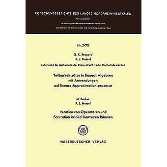 Teilbarkeitsstze i BanachAlgebren mit Anwendungen auf lineare Approximationsprozesse af Bragard & Guido K.