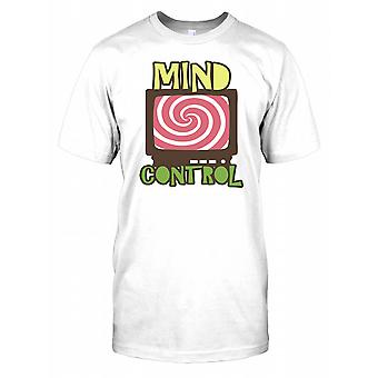 Mind Control - Hypnotic Television - Conspiracy Mens T Shirt