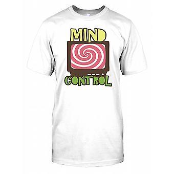 Mind Control - hypnotische Television - samenzwering Mens T Shirt