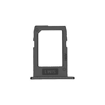 Original Samsung Galaxy J5 - SM-J530 - Dual SIM & Memory Card Tray - Schwarz - GH64-06463A