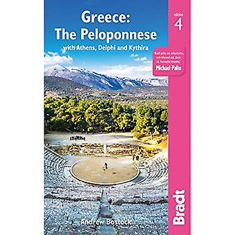 Greece: The Peloponnese: with Athens, Delphi and Kythira (Bradt Travel Guides)