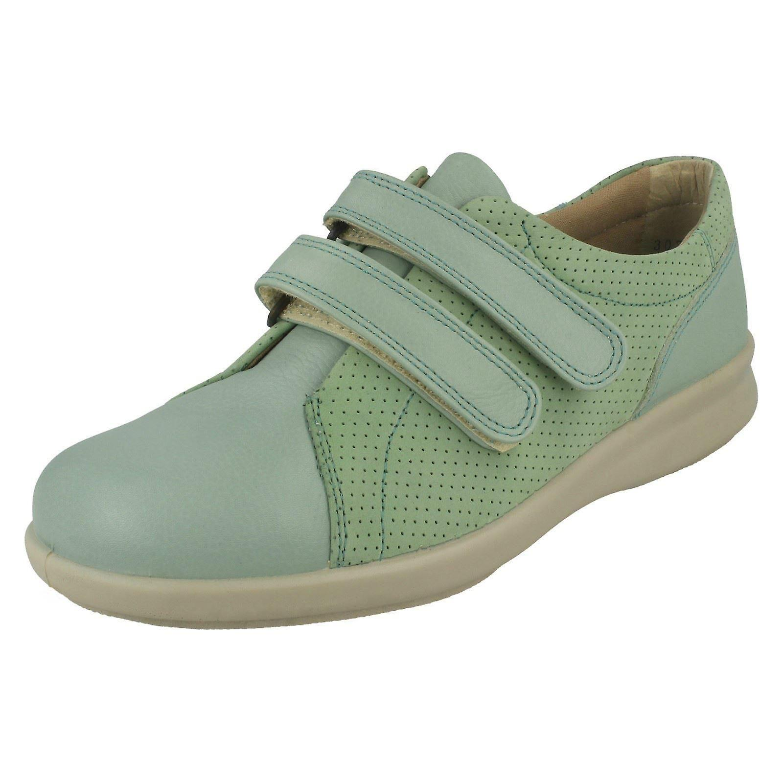 Ladies Easy B Hook & Loop Casual Shoes Naomi a3lUh