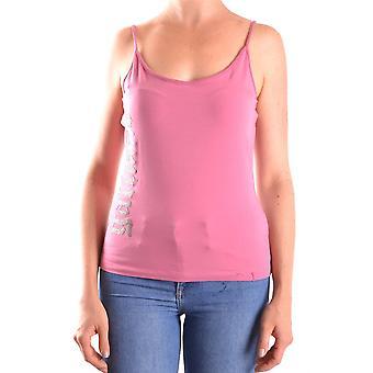 John Galliano Ezbc164009 Women's Pink Cotton Top