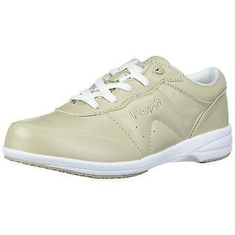 Propét Womens Washable Walker Leather Low Top Lace Up Fashion Sneakers