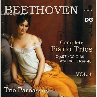 L.V. Beethoven - Beethoven: Complete Piano Trios, Vol. 4 [CD] USA import