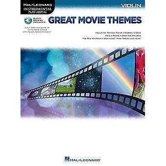 Instrumental Play-Along - Great Movie Themes - Violin by Hal Leonard P