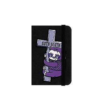 Grindstore Goth Sloth Mini Notebook