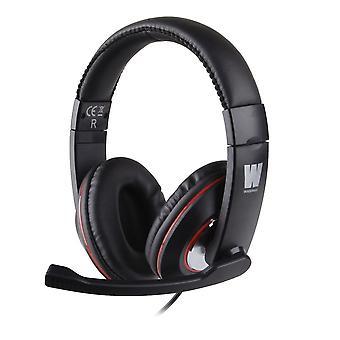 WASDkeys multi-platformă Stereo Gaming Headset pentru PC și Sony PS4-negru (H200)