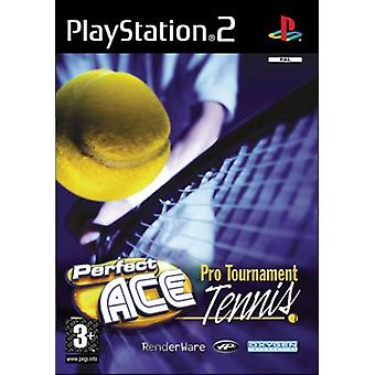 Perfect Ace Pro Tournament Tennis (PS2) - New Factory Sealed