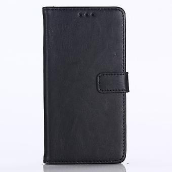 Huawei P20 Lite retro Wallet Case-zwart