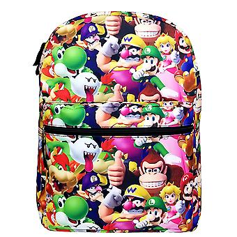 Backpack - Super Mario Bros - All-Over Print 16