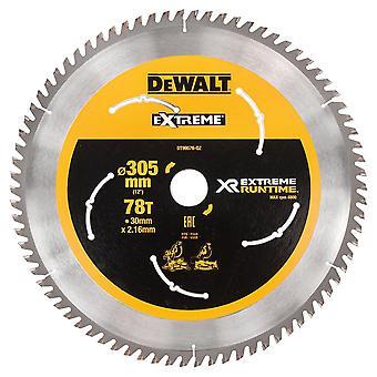 DeWALT DT99576-QZ XR FLEXVOLT Mitre sågblad 305mm x 30mm x 78T