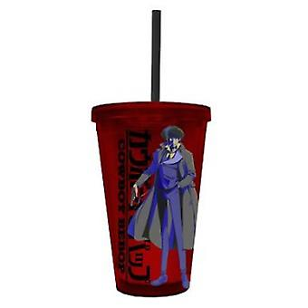 Cold Cup Plastic Strew - Cowboy Bebop - Red Cup Mug New cc-bop-splg