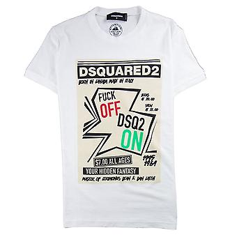 Dsquared2 Your Hidden Fantasy T-Shirt White