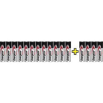 Energizer Max LR06, 12+4 gratis AA Batterie Alkali-Mangan 1,5 V 16 Stk.