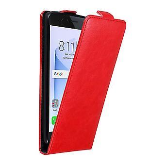 Caso cadorabo para Honor 8 caso capa-telefone caso em design flip com fechamento magnético-caso capa caso caso caso livro estilo Folding