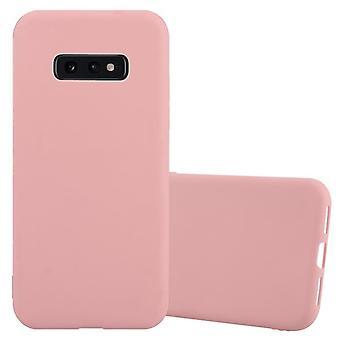 Cas Cadorabo pour Samsung Galaxy S10e Case Cover - Boîtier de téléphone mobile en silicone TPU flexible - Boîtier de protection en silicone Ultra Slim Soft Back Cover Case Bumper