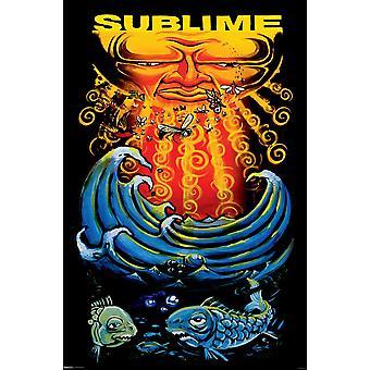 Poster - Studio B - Sublime - Sun & Fish 36x24