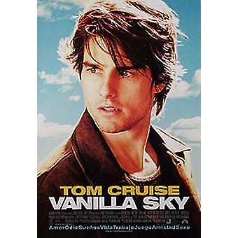 Vanilla Sky (espagnol) Original Cinema Poster