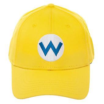 Baseball Cap - Super Mario - Wario Flex Fit Cap New bx7qvesmb