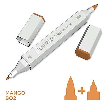 Illustrator by Spectrum Noir Single Pen - Mango