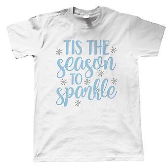 'Tis The Season To Sparkle, Mens T-Shirt - Christmas Gift Him Dad