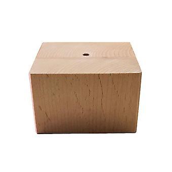 Dřevěná nábytek noha 5 cm