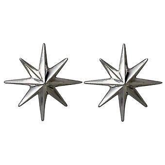 Constellation Stud snarer Nordstern Polarstern 925 sølv, forgylt eller Rose
