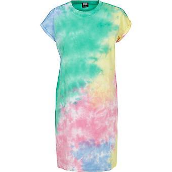 Urban Classics Women's Sweat Dress Tie Dye