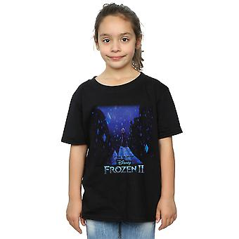 Disney Girls Frozen 2 Elsa Diamond Elements T-Shirt