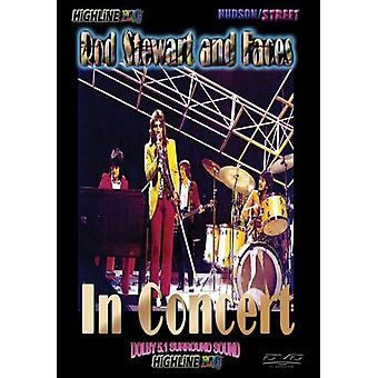 Stewart, Rod & Faces - In Concert [DVD] USA import