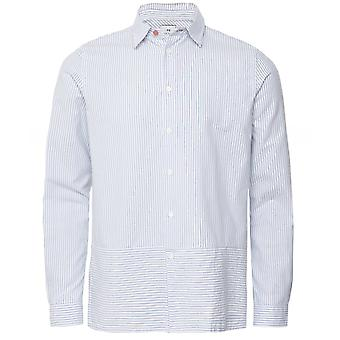 Chemise Paul Smith Casual Fit Striped Panel Oxford
