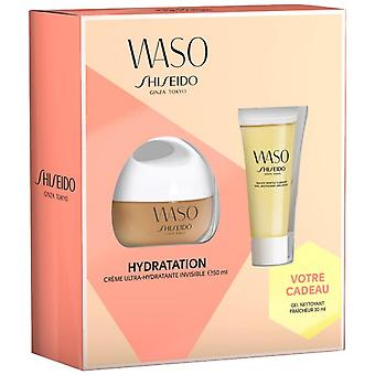 WASO Moisturizing Box: hydraterende Crme/Fresh Cleansing Gel/rust huid nacht masker e